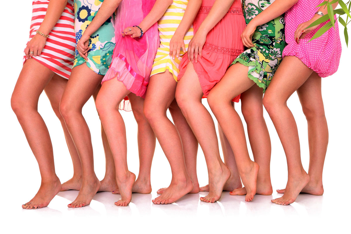Waxing for women: Hands, Underarms, Legs, & Bikini